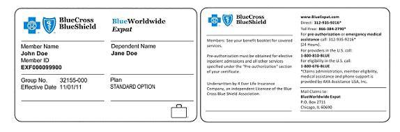 BlueWorldwide Expat® product terminates effective Nov. 30 ...