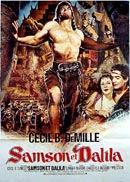 cartaz de Sansão e Dalila