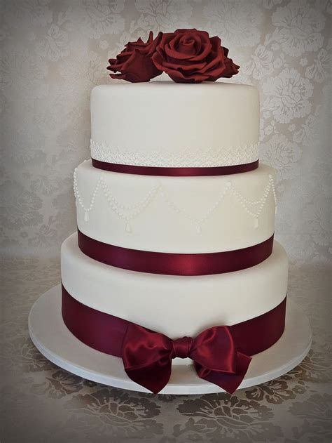 18 best Maroon and White Weddings images on Pinterest