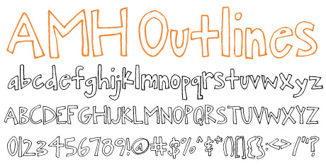 click to download AMH Outlines
