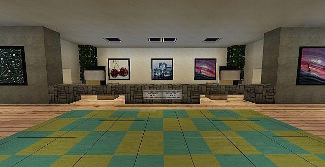 Best Minimalist Design Ideas Images Hotel Lobby Minecraft