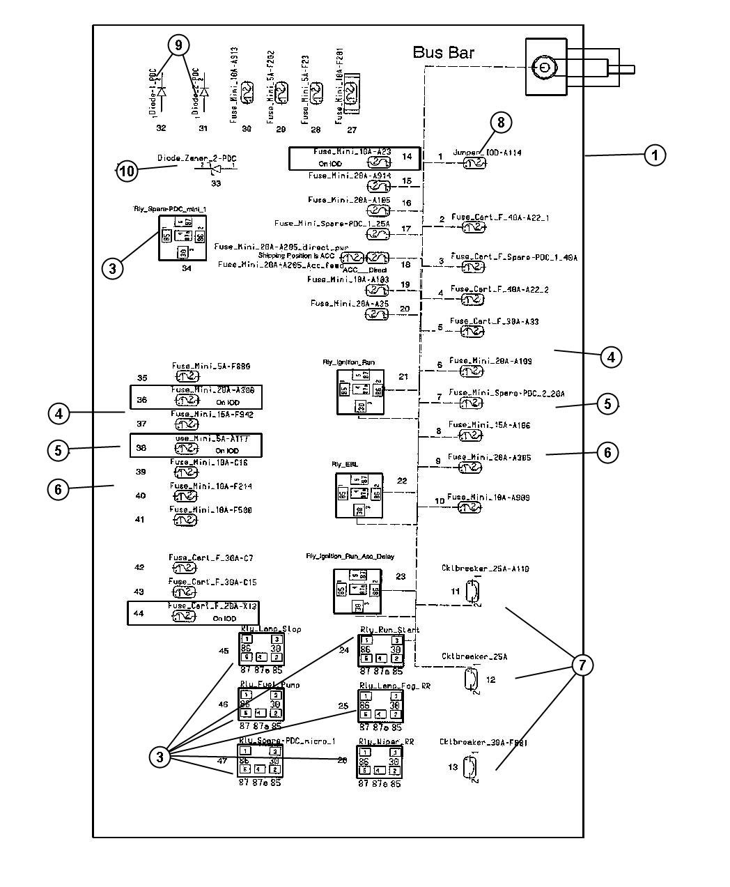 Diagram Fuse Box Diagram For A 2005 Chrysler 300 Limited Full Version Hd Quality 300 Limited Ironedgediagram Bagarellum It