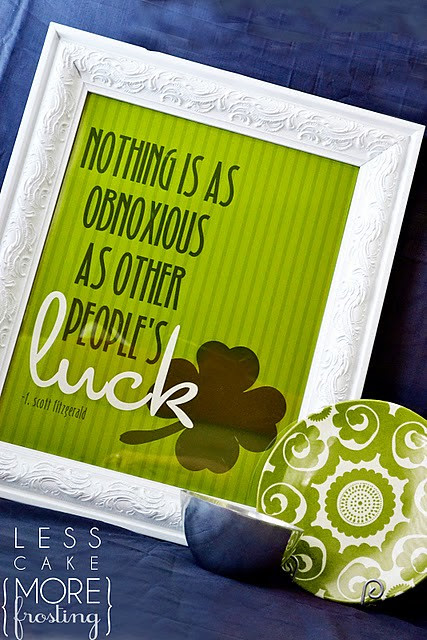 Obnoxious Luck Poster