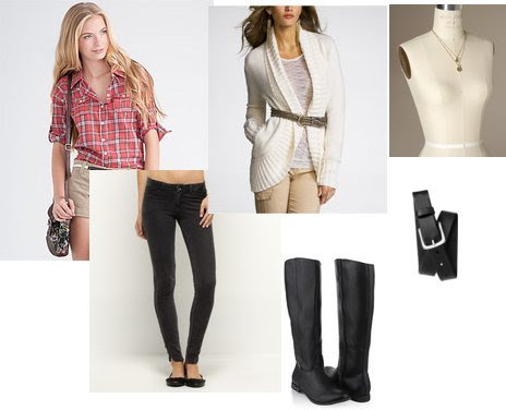 Gap, Express, Forever 21, The Limited, Roxy