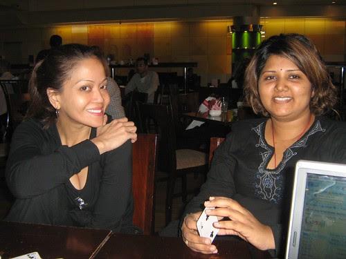 Maha and Ida Nerina in Dubai