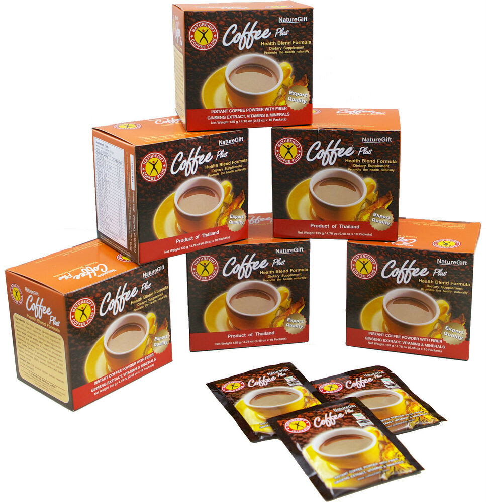 Weight Loss Diet Coffee NatureGift Coffee Plus 10 boxes ...