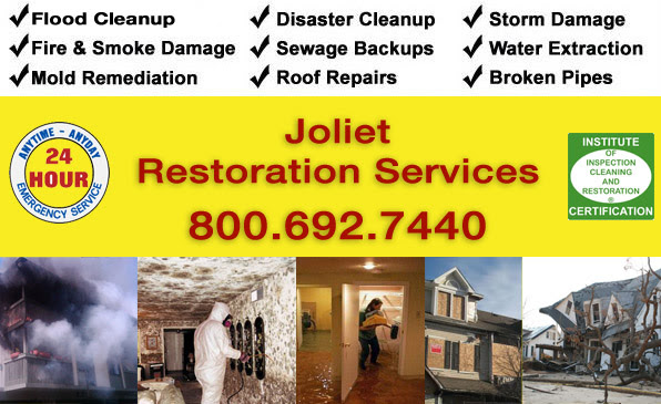 Storm Water and Fire Emergency Restoration Services Joliet IL