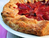 Fruit and Frangipane Galette