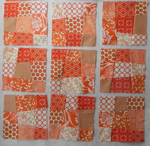 A Blockwork Orange Bee- Blocks 10-18