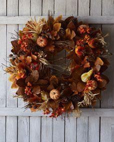 fall wreath <3