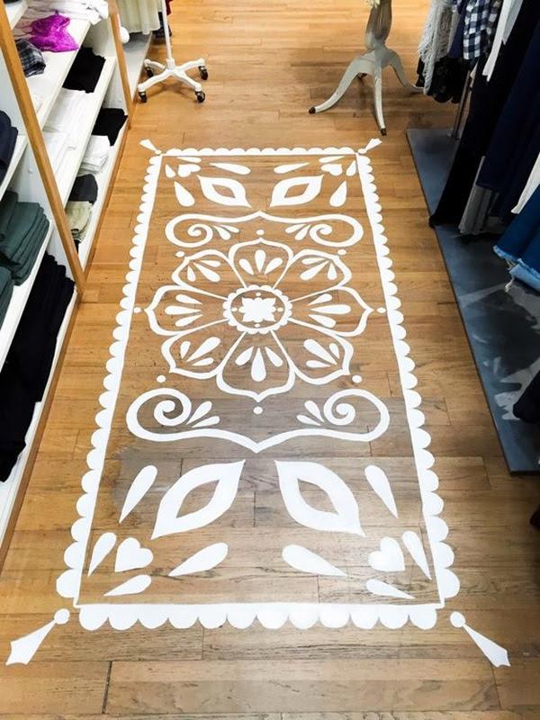 Creative Wood Floor Paint Decoration Art Works (30)