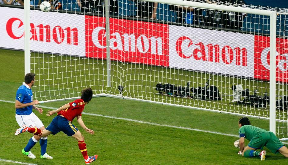 Selección italiana, Selección española, Eurocopa 2012