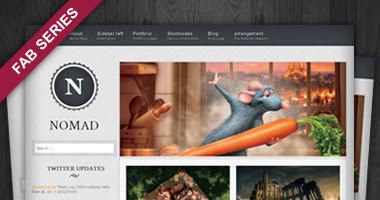 Nomad Free WP Theme