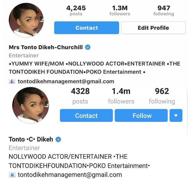 Image result for tonto dikeh marriage breaks up crashes and ends