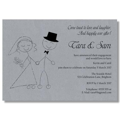 Budget Wedding Invitations Template Engagement Love