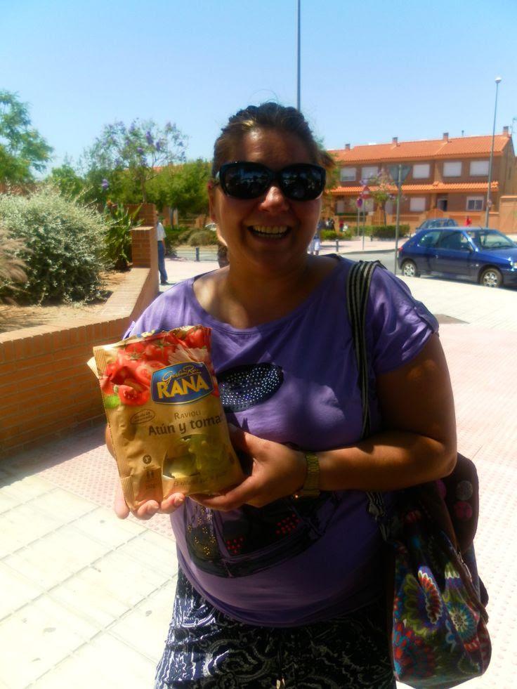 pastas frescas, giovanni rana, treemkt, blog soloyo,  ravioli atún y tomate