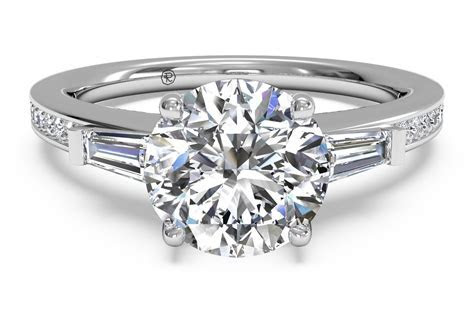 What is a baguette diamond engagement ring?   Ritani