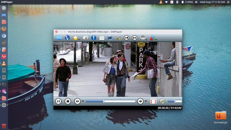SMPlayer Pemutar Musik Terbaik Di Linux Ubuntu