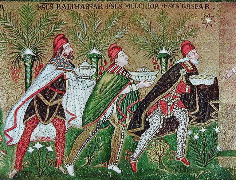 re magi a Ravenna