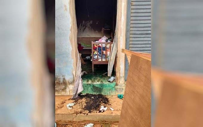 POLÍCIA: Jovem põe fogo em casa com os três filhos dentro