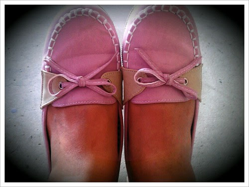 13 Pink shoe complete