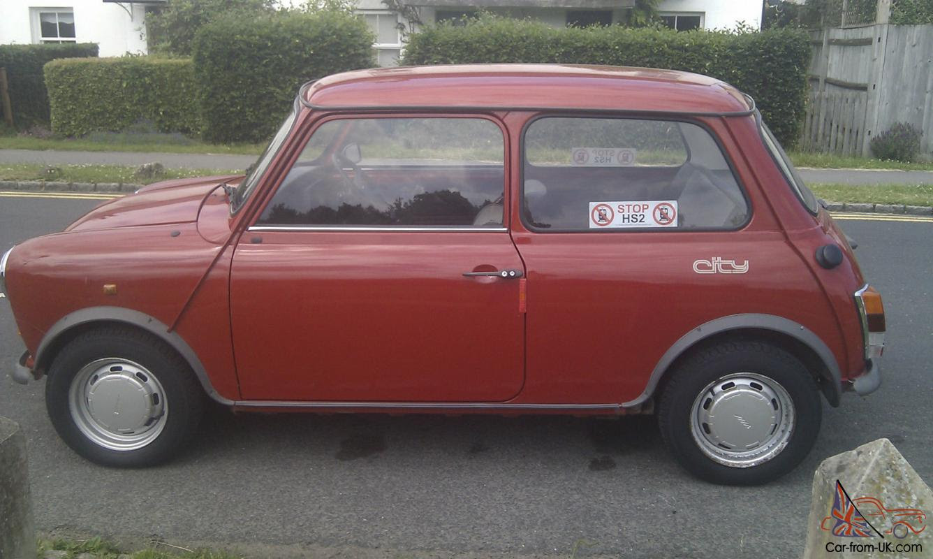 1988 Austin Mini City E only 9800 miles from NEW