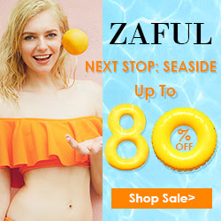 Enjoy Up to 80% OFF Seaside Sale at Zaful.com! Ends: June.30, 2017