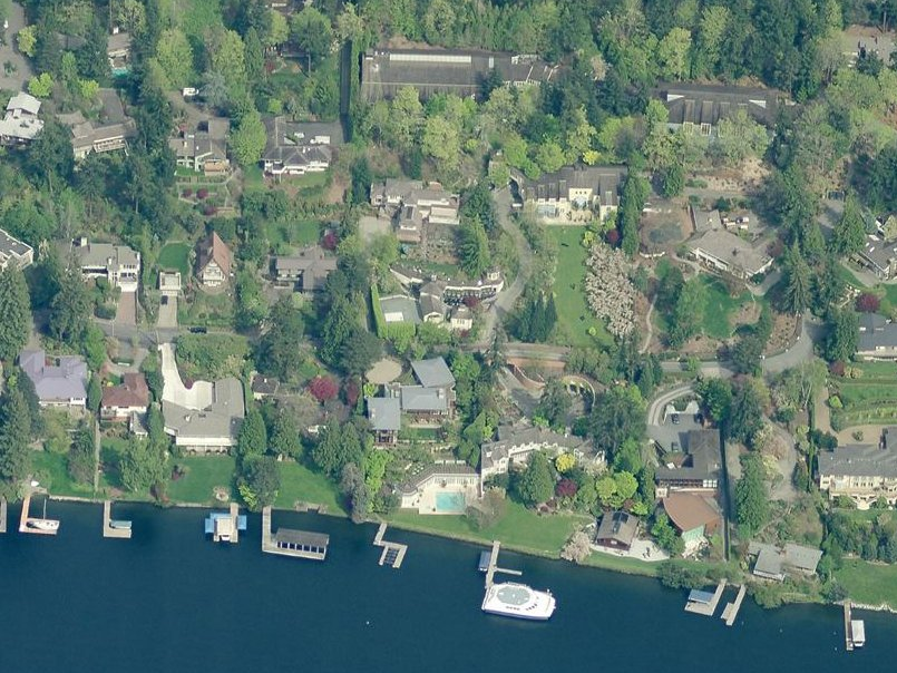 Allen is also known for his impressive real estate portfolio. In addition to vacation homes in London, France, and New York, he makes his primary residence in a 10,000-square-foot waterfront home on Mercer Island, a ritzy enclave of Seattle. He owns a total of nine mansions on the island, including one that's just for his mother and another that houses a full-size basketball court, swimming pool, and fitness center.