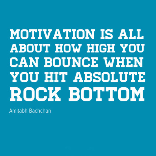 Quotes About Being Rock Bottom 20 Quotes