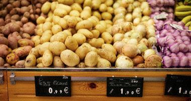 بطاطس بيضاء - أرشيفية