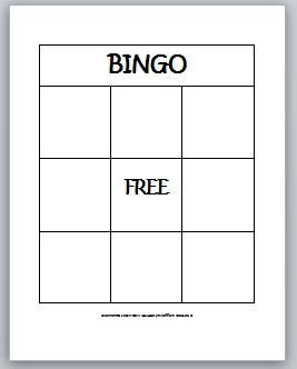 1000+ images about Bingo on Pinterest | Calling cards, Student and ...