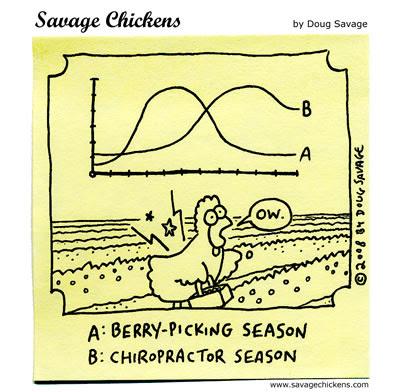 Savage Chickens - Berry-Picking