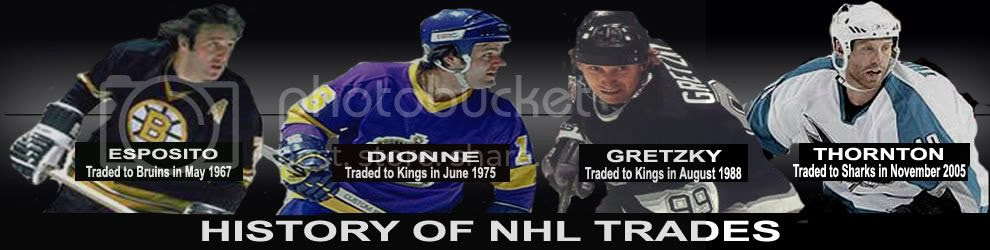 HISTORY OF NHL TRADES