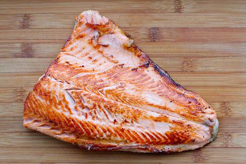 Pan-seared trout / Praetud forellifilee