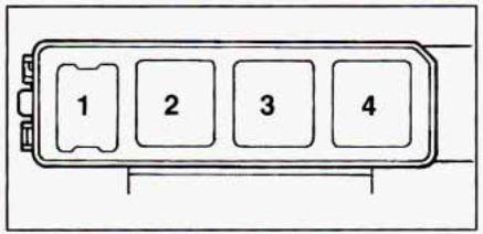 Geo Prizm 1990 1995 Fuse Box Diagram Auto Genius