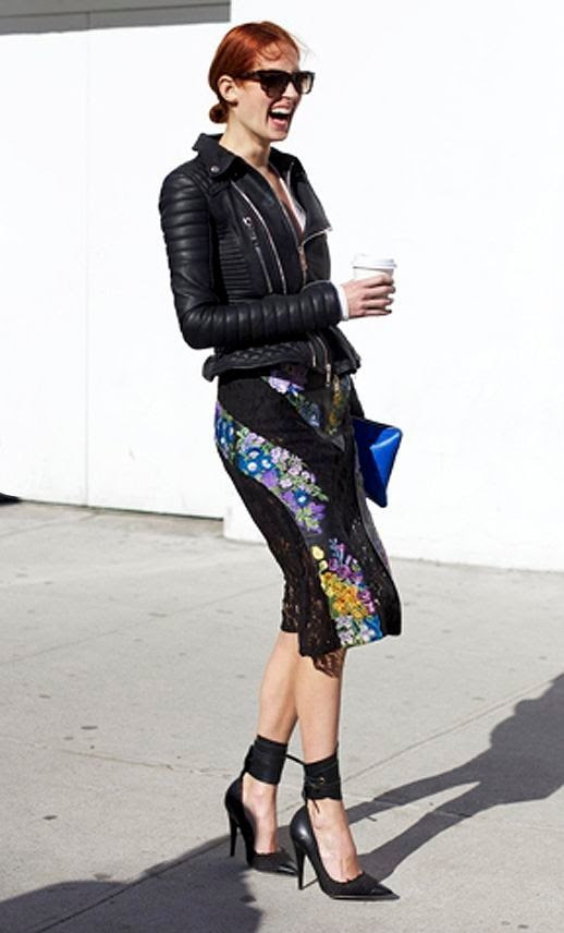 Le Fashion Blog 15 Ways To Wear Floral Prints Taylor Tomasi Hill Street Style Leather Jacket Skirt Ankle Strap Heels Harpers Bazaar Au photo 15-Ways-To-Wear-Floral-Prints-Taylor-Tomasi-Hill-Street-Style-Leather-Jacket-Skirt-Ankle-Strap-Heels-Harpers-Bazaar-Au.jpg