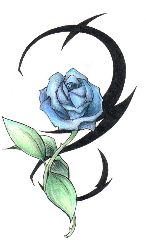 40 Amazing Black And Gray Rose Tattoo Ideas