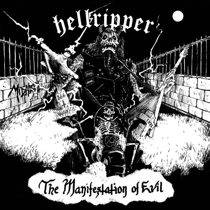 The Manifestation of Evil EP cover art