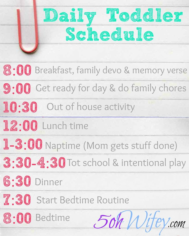1000+ ideas about Toddler Daily Schedules on Pinterest   Toddler ...