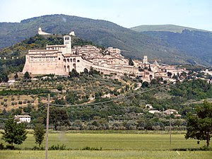 Assisi from Valley