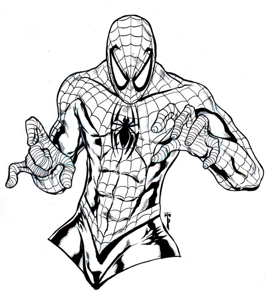 9400 Top Carnage Spiderman Coloring Pages Pictures