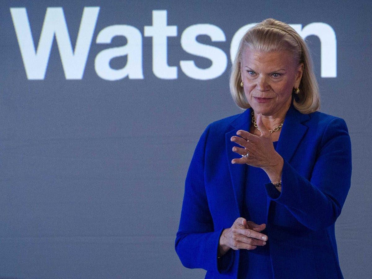 No. 1: IBM's Ginni Rometty