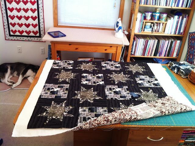 IMG_6044 Wonky Star Quilt