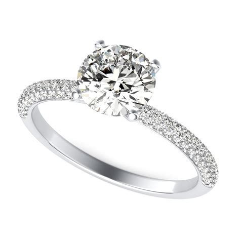 Diamond Engagement Ring   Round Cut SKU: RD0023   90210