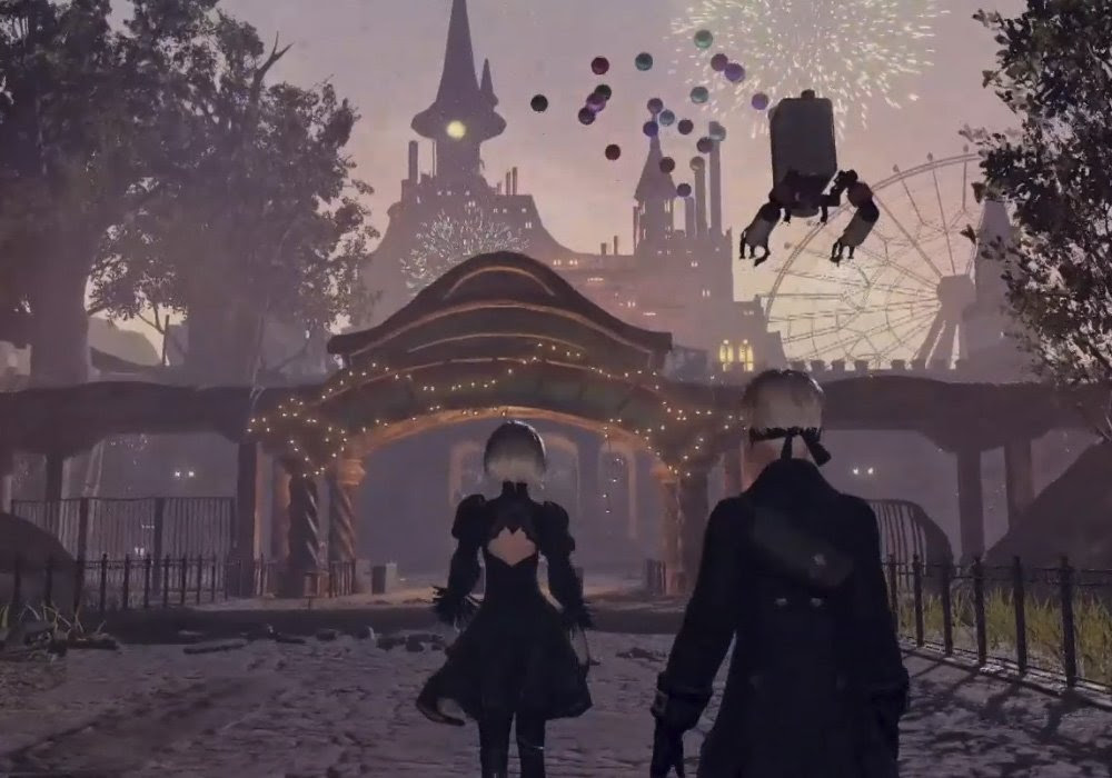 NieR: Automata is coming as an Xbox One X Enhanced title this month screenshot