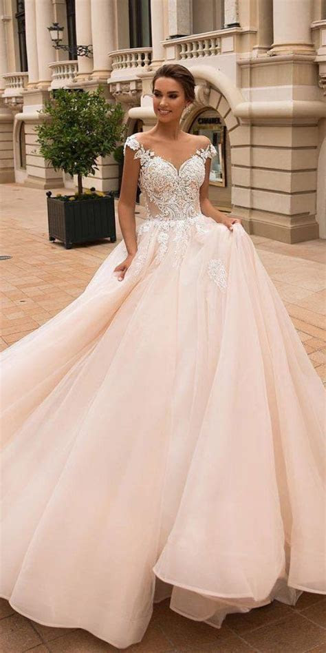 24 Lace Ball Gown Wedding Dresses You Love   Wedding