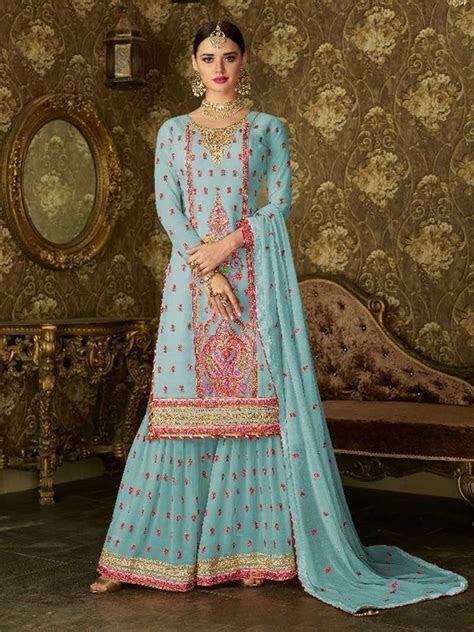 Details about Bollywood Ethnic Designer Party wear Punjabi