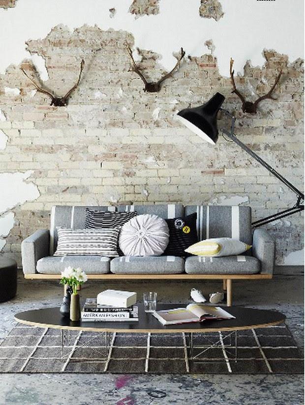 Grunge  Style in Interior Design  My Daily Magazine Art