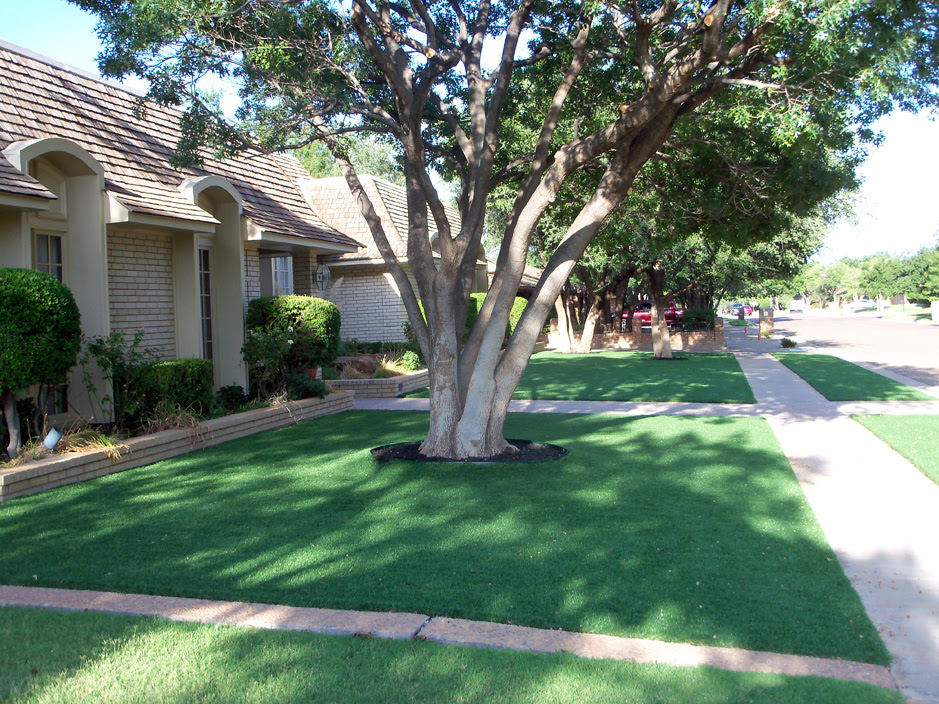Artificial Turf Thousand Oaks California Landscape Design Front Yard