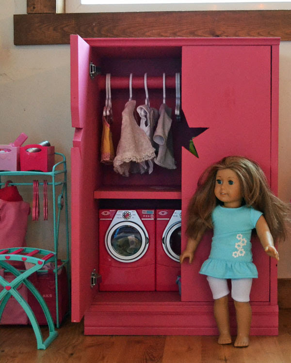 Ana White Star Doll Closet For American Girl Or 18 Doll Diy